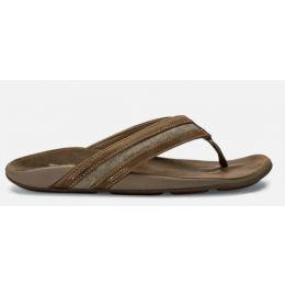 Olukai Tan Ikoi Mens Comfort Sandals 10360-1313
