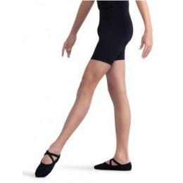 Capezio Black Fitted Boys Shorts 10360B
