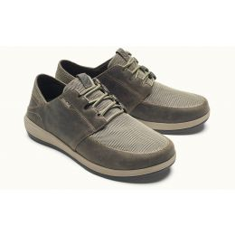 Olukai Clay Makia Lace Mens Comfort shoes 10362-1028