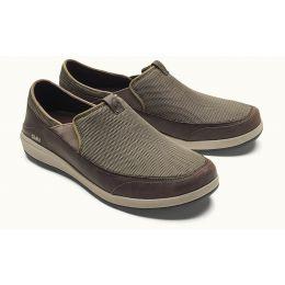 Olukai Makia Mustang/Dark Wood Mens Lightweight Shoes 10363-1363