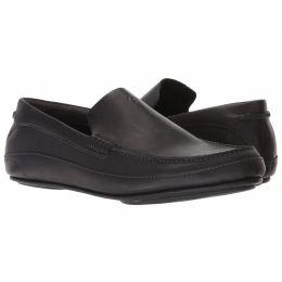 Olukai Black Kulana Mens Leather Mens Comfort Shoes 10380--4040