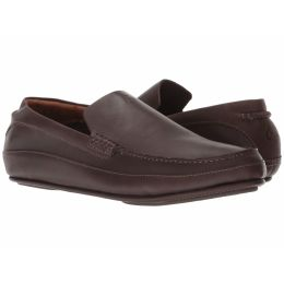 Olukai Dark Brown Kulana Mens Leather Mens Comfort Shoes 10380-6363