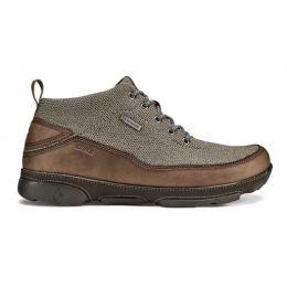 Olukai Ua Kea Men's Clay/Espresso Waterproof Leather Boots 10403