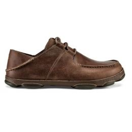 Olukai Ohana Li 'Ili Men's Tan/Mustang Leather Shoes 10404