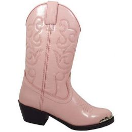 Smoky Mountain 1041 Pink/Toe Rand  Kids Western 1041