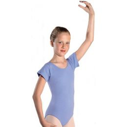 Eurotard Royal Short Sleeve Leotard With Fully Lined Front 1043
