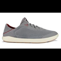 Olukai Red Moku Pae Men's No Tie Boat Shoes 10472-25RX