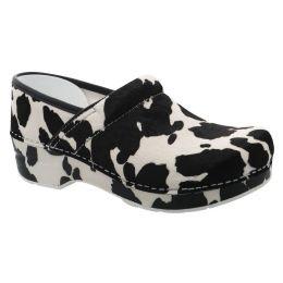 Dansko Cow Print Haircalf Professional Womens Comfort Shoes 106-180101