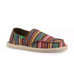 Sanuk Cabaret Kauai Blanket Lil Donna Blanket Slip-On Kids Shoes 1091269KCK