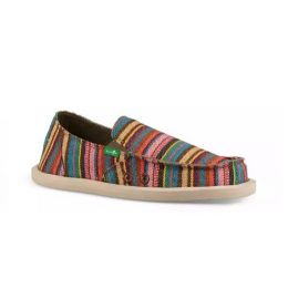 Sanuk Cabaret Kauai Blanket Lil Donna Blanket Slip-On Kids Shoes