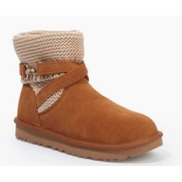 UGG Women's Chestnut Purl Strap Classic Boot 1098080