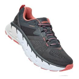 Hoka Dark Shadow Lantana Gaviota 2 Womens Comfort Running Shoes 1099630
