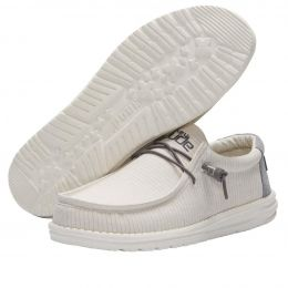 Hey Dude Shadow Wally Canvas Mens Casual Shoes 110060166