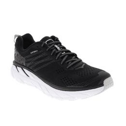 Hoka one Balck/White Men's Clifton 6 Comfort Athletic Shoe 1102872
