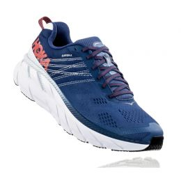 Hoka Ensign Blue/Plein Air Clifton 6 Mens Running Shoes 1102872