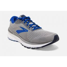 Brooks Grey/Blue/Navy Adrenaline GTS 20 Mens Running Shoes 110307-051