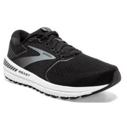 Brooks Beast 20 Men's Black/Ebony/Grey Athletic Shoe 110327-051