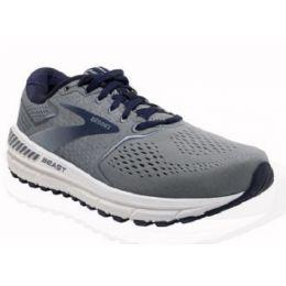 Brooks Beast 20 Men's Grey/Blue/Poseidon Athletic Shoe 110327-491