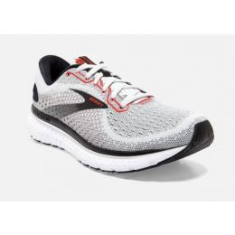 Brooks Glycerin 18 Grey/Black/Red Mens Road Running Shoes 110329-094