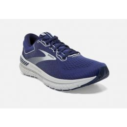 Brooks Transcend 7 Deep Cobalt Blue Mens Comfort Road Running Shoes 110331-467