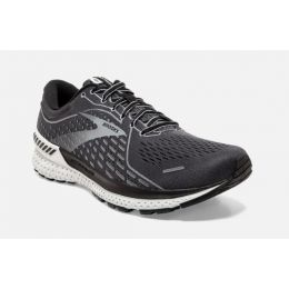 Brooks Blackened Pearl/Black/Grey Adrenaline GTS 21 Mens Road Running Shoes 110349-093