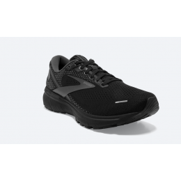 Brooks Black and Ebony Ghost 14 Men's Road Running Shoes 110356-071
