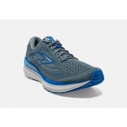 Brooks Quarry/Grey/Dark Blue Glycerin GTS 19 Mens Road Running Shoes 110357