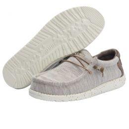 Hey Dude Limestone Wally Stretch Mens Casual Shoes 110381721