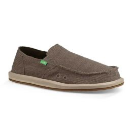 Sanuk Brindle Hemp Mens Sidewalk Surfer 1105030