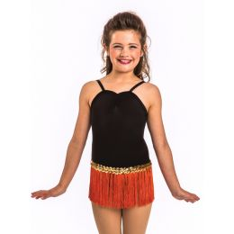 110 Lyrca Pinchfront leotard Child