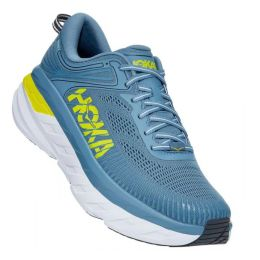Hoka Provincial Blue/Citrus Bondi 7 Mens Running Shoes 1110518/30
