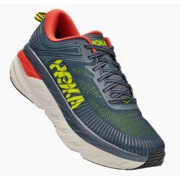 Hoka Turbulence/Chili Bondi 7 Mens Running Shoes 1110518