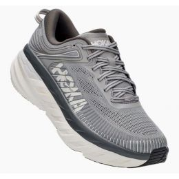 Hoka Wild Dove/Dark Shadow Bondi 7 Mens Road Running Shoes 1110518