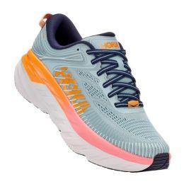 Hoka Lunar Rock/Black Iris Bondi 7 Womens Running Shoes 1110519/31