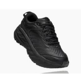 Hoka Women's Black Bondi Sr Slip-Resistant Comfort Shoe 1110521-BBLC