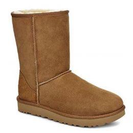 UGG Women's Chestnut Classic Short II Tasman Braid Boot 1110699