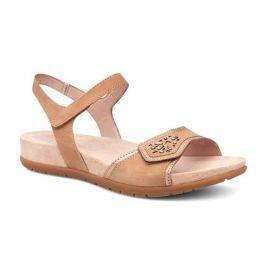 Dansko Sand Blythe Full Grain Leather Womens Comfort Sandals 1112-210600