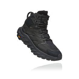 Hoka Black Anacapa Mid Gore-Tex Hiking Shoes 1122018-BBLC