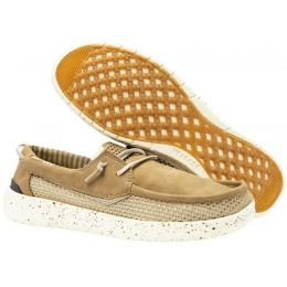 Hey Dude Beige Welsh Grip Mens Casual Shoes 112220536