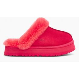 Ugg Hibiscus Pink Disquette Womens Slippers 1122550-HSPK