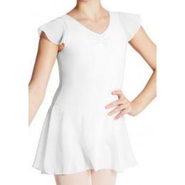 Capezio Flutter Sleeve Childrens Dress 11305C