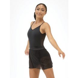Capezio Black Lace Camisole Leotard 11502W