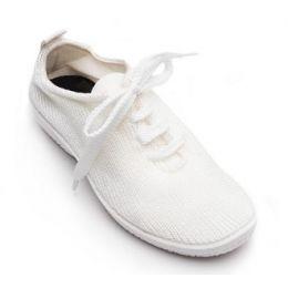 Arcopedico LS Women's White/White Lace Up Comfort Shoe 1151-LS-C61