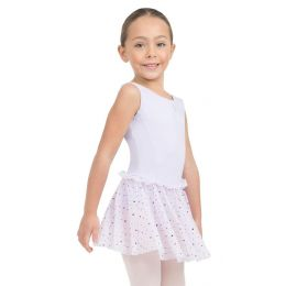 Capezio Girls Glitter Rose Tank Dress 11532C