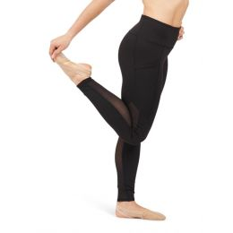 Capezio Shadow Dance Active Ladies Paneled Legging 11655W-SHA