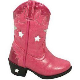 Smoky Mountain Austin Blinking Lights Pink Kids Western 1167C