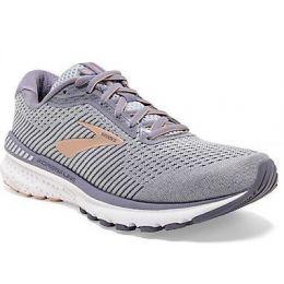 Brooks Women's Gray/Peach Adrenaline GTS 20 Running Shoes 120296