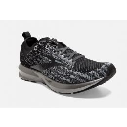 Brooks Black/Silver Levitate 3 Womens Road Running Shoes 120300