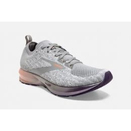 Brooks White/Purple/Orange Levitate 3 Womens Running Shoes 120300-134
