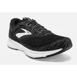 Brooks Black and White Pearl Revel 3 Womens Road Running Comfort Shoe 120302-012